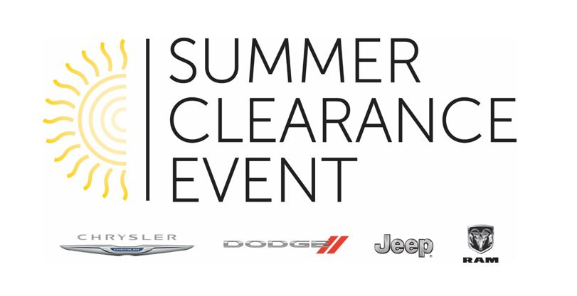 Summer Clearance Event in Crestview, Florida
