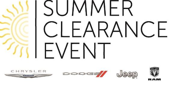 Summer Clearance Event in CITY, STATE